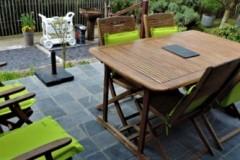 La table de terrasse